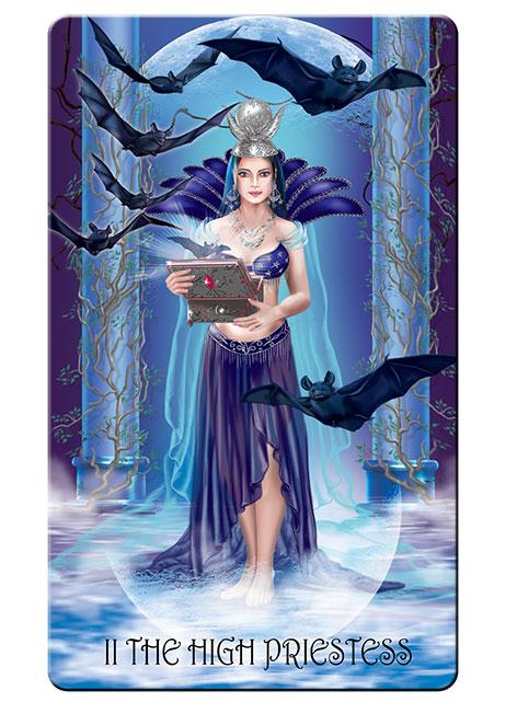 Nocturnal tarot High priestess