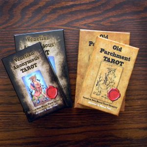 Old Parchment Tarot Sola Busca